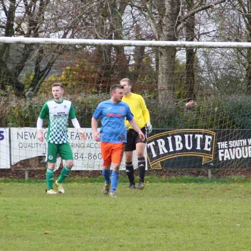 Witheridge 2nds FC v Elmore FC