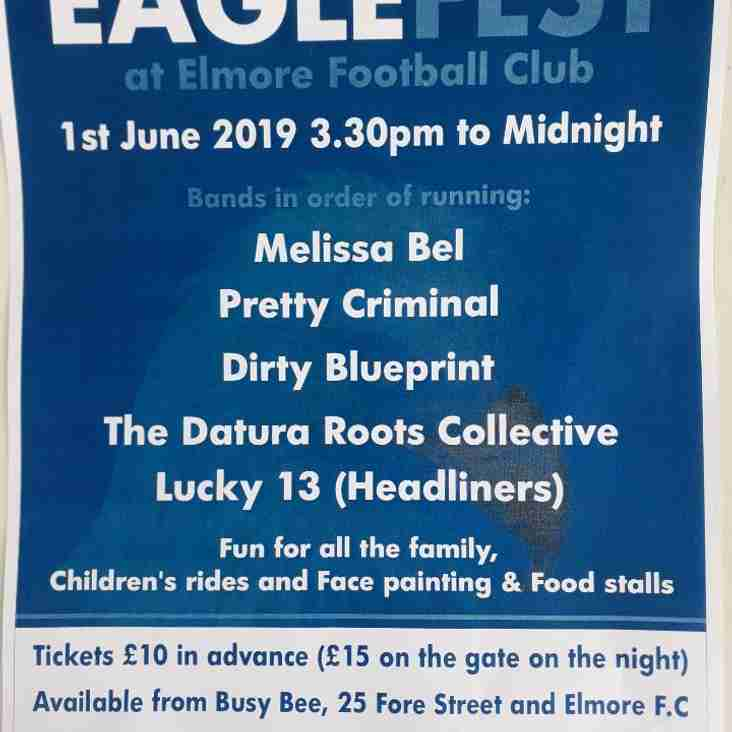 Eaglefest at Elmore Football Club