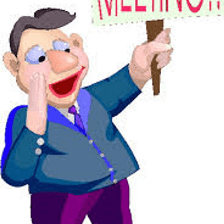 March Managers Meeting Monday 19th 8pm