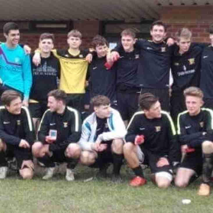 U18's Win the cup