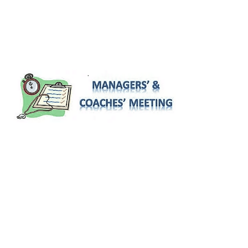 January Managers Meeting Monday 15th 8pm