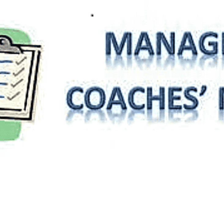 April Managers Meeting Monday 10th 8pm