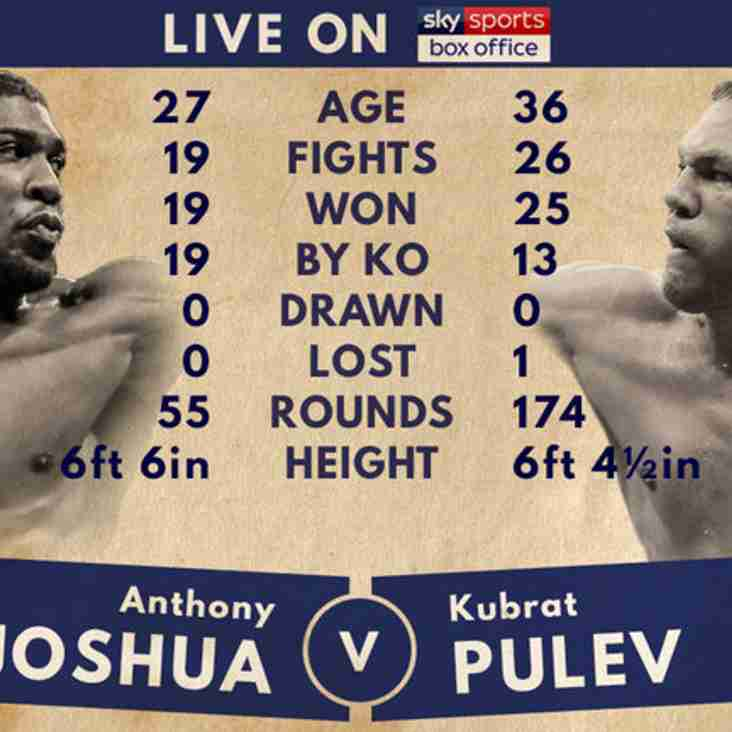 Boxing Live This Saturday 28th October from 19:00