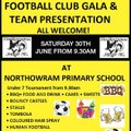 Northowram Juniors Presentation Day and U7 Gala
