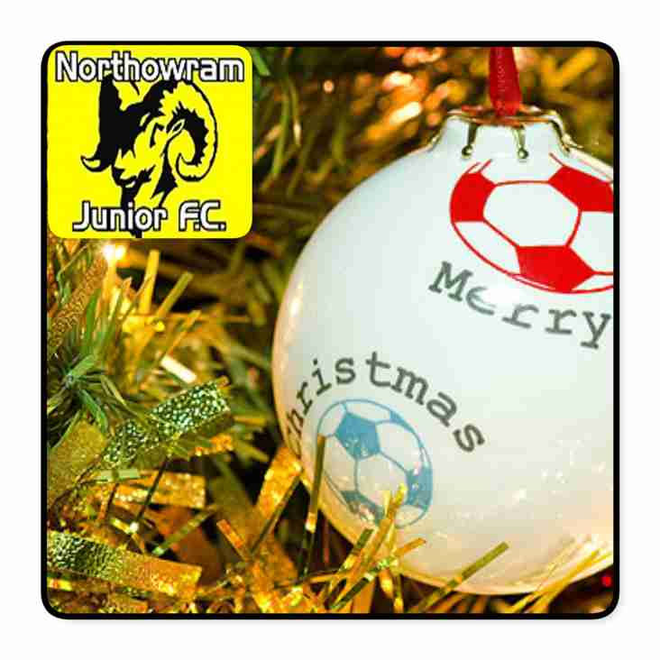 Merry Xmas and a Happy New Year from Northowram JFC