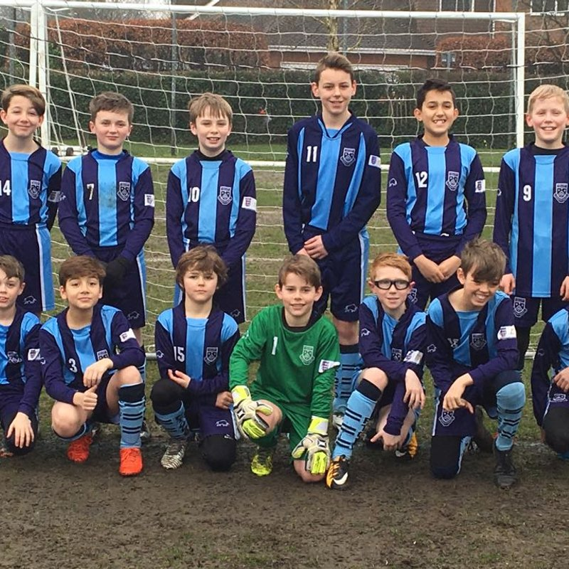 Under 13 - Lions beat Hart Youth U13 Panthers 1 - 6