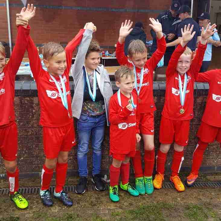Binfield Pirates Top Group at FC Bracknell Tournament