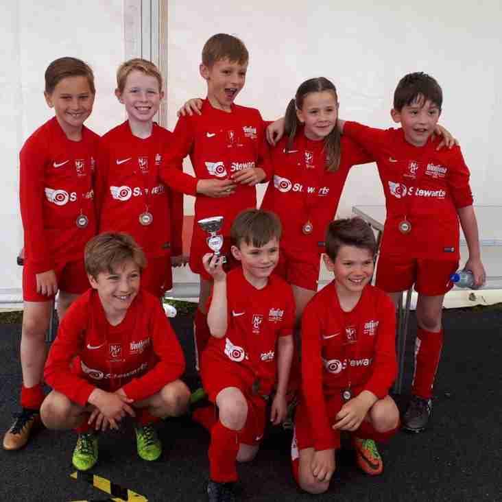 Binfield Pirates u8s Win Division at Binfield Tournament