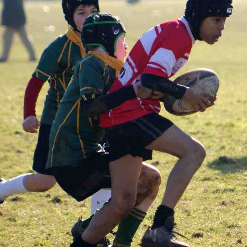 U11 home vs Perranporth 8th Feb