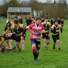 Under 14's at Wadebridge