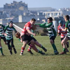 under 14's away at Newquay