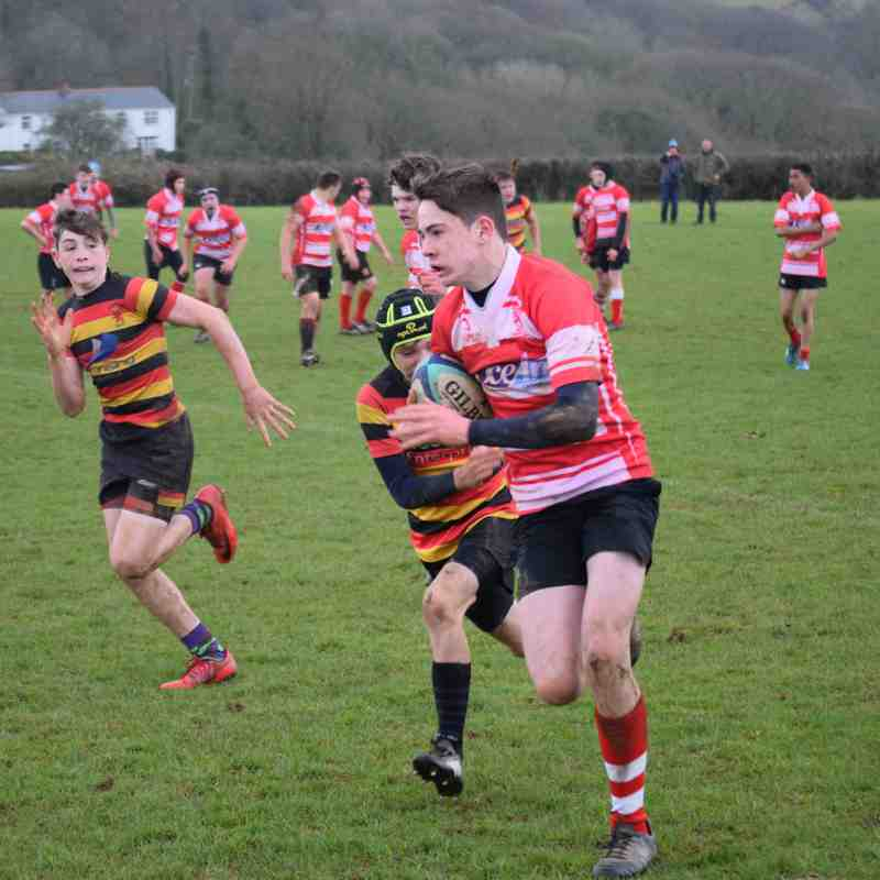 U14's Home v Saltash