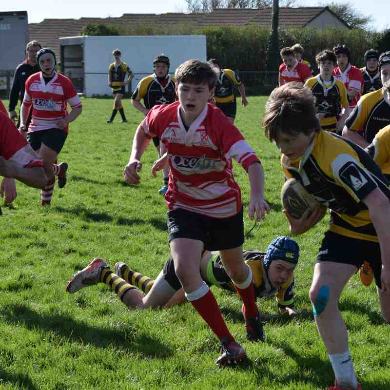 under 14 festival at Redruth