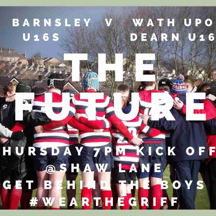 Barnsley U16s V Wath U16s