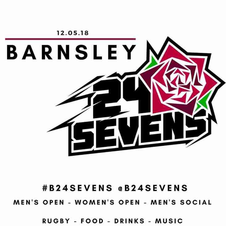 Barnsley 24 Sevens 2018