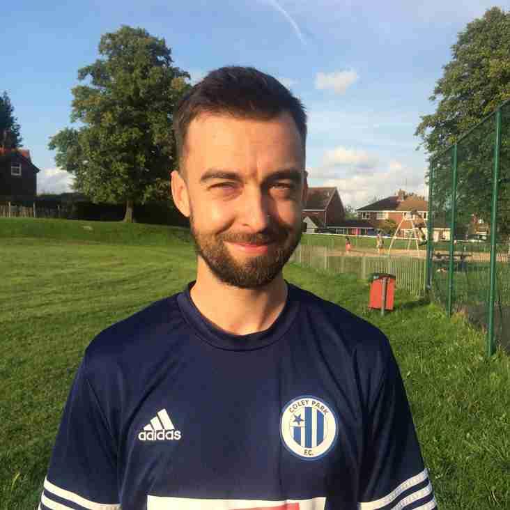 Coley Park Team mates - Bradley Matthews
