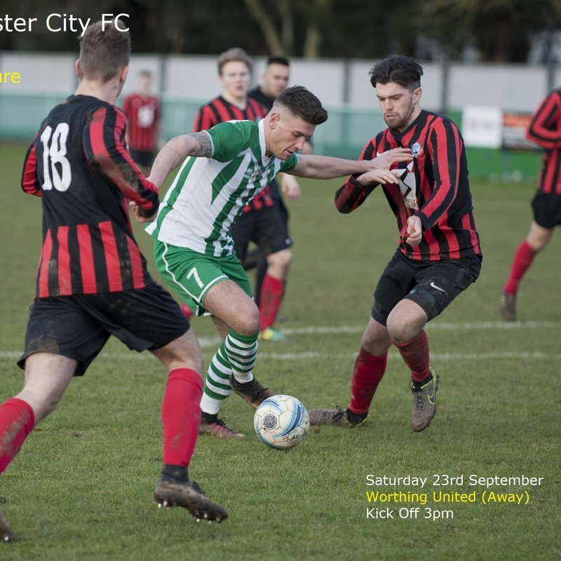Next Fixture: Worthing United v Chichester City