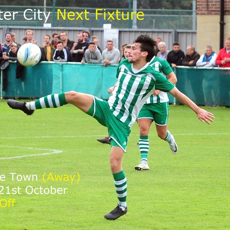 Chichester City FC Next Fixture