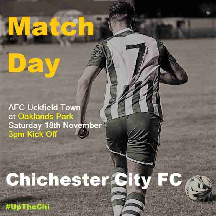 Match Day: Chichester City v AFC Uckfield Town