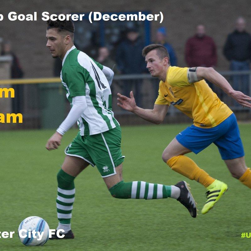 Kaleem Haitham is Joint Top Scorer in December