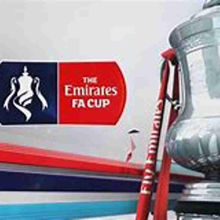 FA Cup Draw  : Vics v Silsden