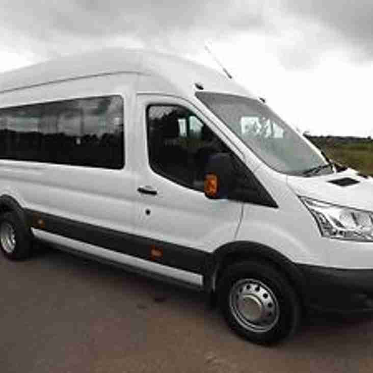 Supporters Minibus to Whitchurch