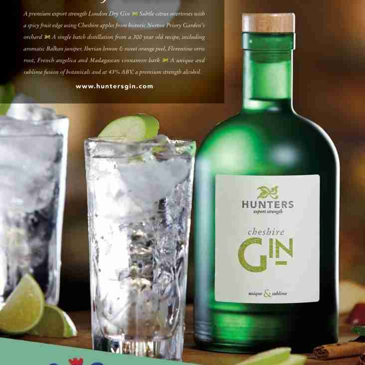Hunters Gin Continue Sponsorship of Vics