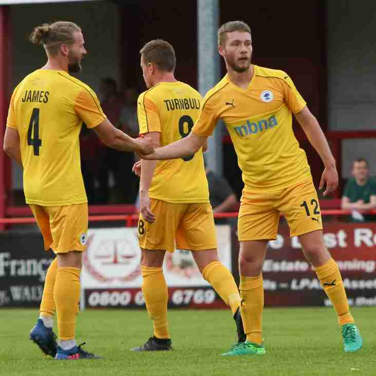 Away Day Joy For James And Chester At Aldershot