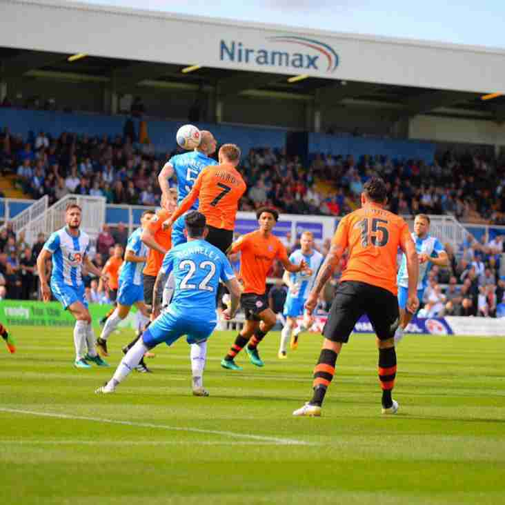 Hartlepool's Harrison: It Just Wasn't Good Enough