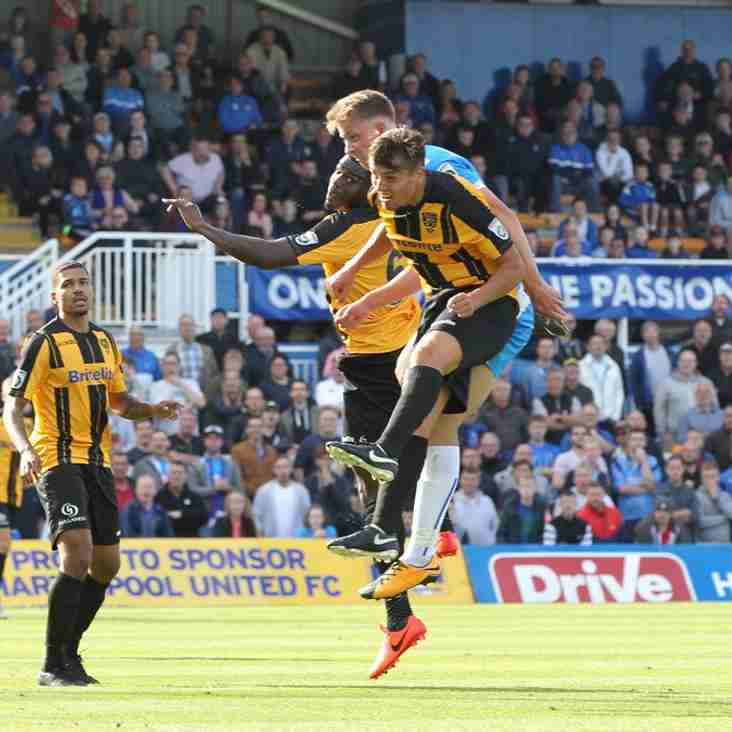 Saunders' Stones Struggling In Front Of Goal