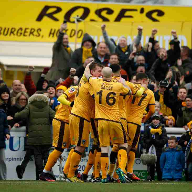 'Brave' Sutton Get Their Reward And Go Top Of National League
