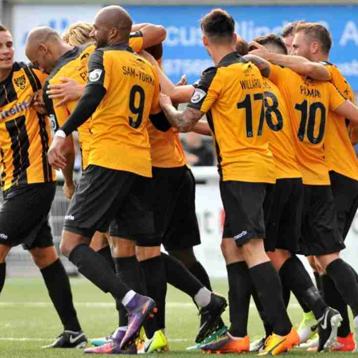 Saunders Believes In-form Maidstone 'Can Get Stronger'