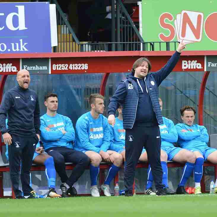 Harrison Happy With Pools Point At In-Form Woking