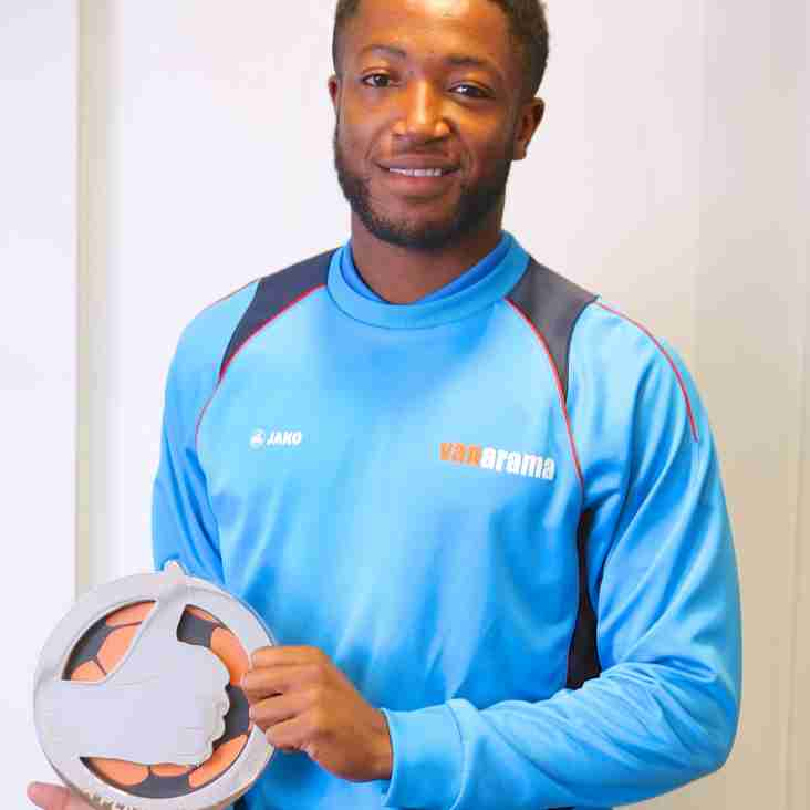 Macclesfield Star Scott Wilson Swoops Player Of The Month