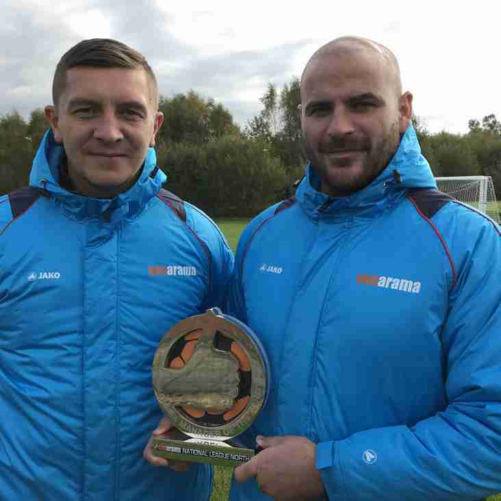 Salford Duo Claim Top Managers Award For September