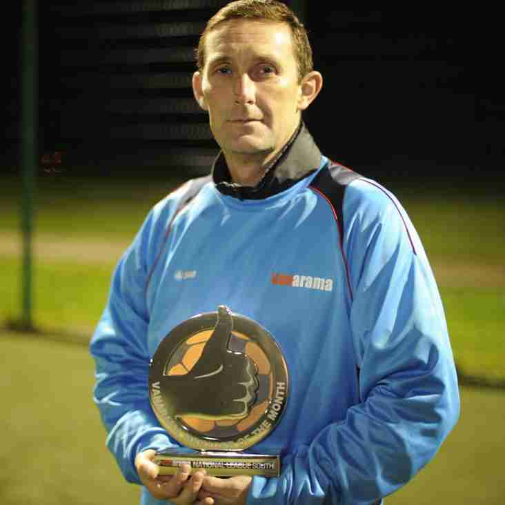 Truro Boss Lee Hodges Takes September's Manager Award