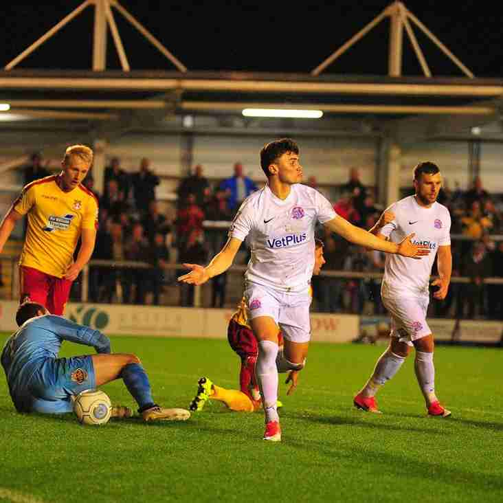 Challinor Hails Most Complete Performance Of Fylde's Season