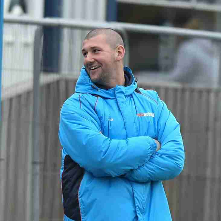 Wright Relishing First Darlington Game In Charge