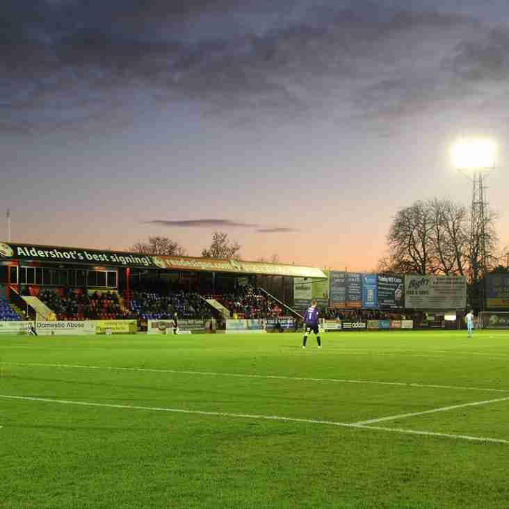 Waddock: Aldershot Will See Benefits Of Training Camp