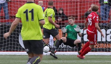 Reid Aims High After First Tamworth Goal