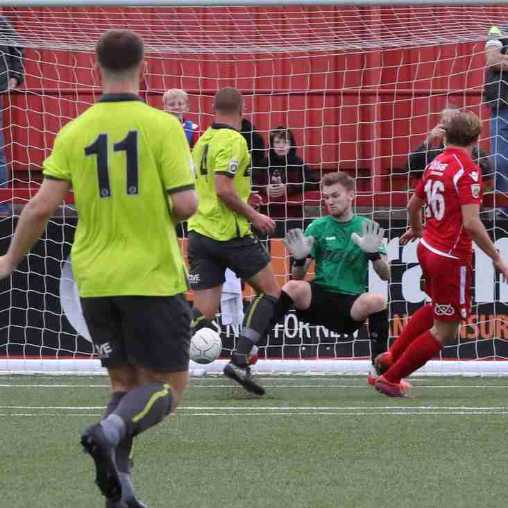Reid Aims High After First Tamworth Goal