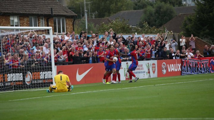 Rowe Team Spirit Leading Aldershot This Season The Vanarama