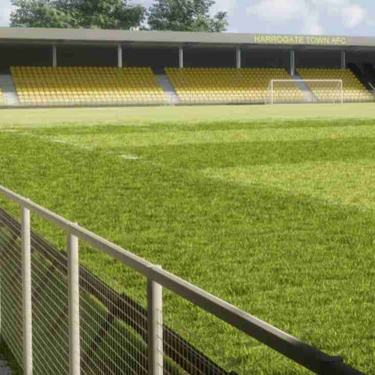 Harrogate Town Propose Stadium Development Plans
