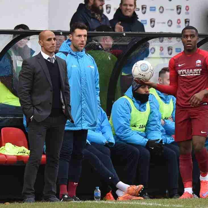 Maamria Takes Positives Despite Losing Two Goal Advantage