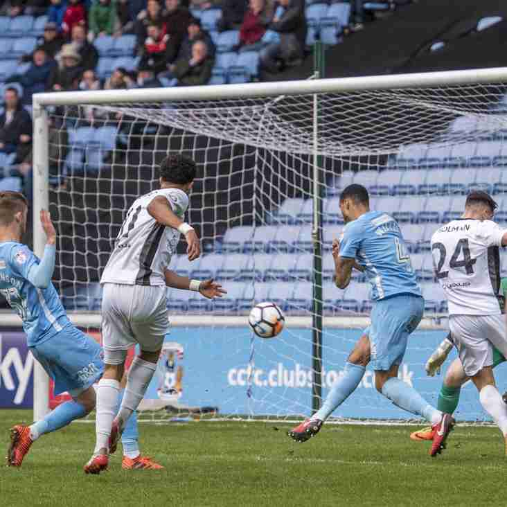 Garrard Calls On Side To Learn From Coventry Loss
