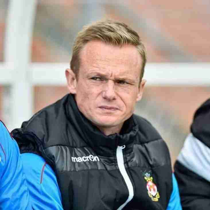 Keates Delighted With Wrexham Performance