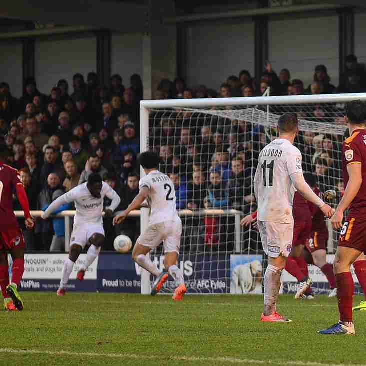 Extra Special Win Pleases Fylde's Challinor