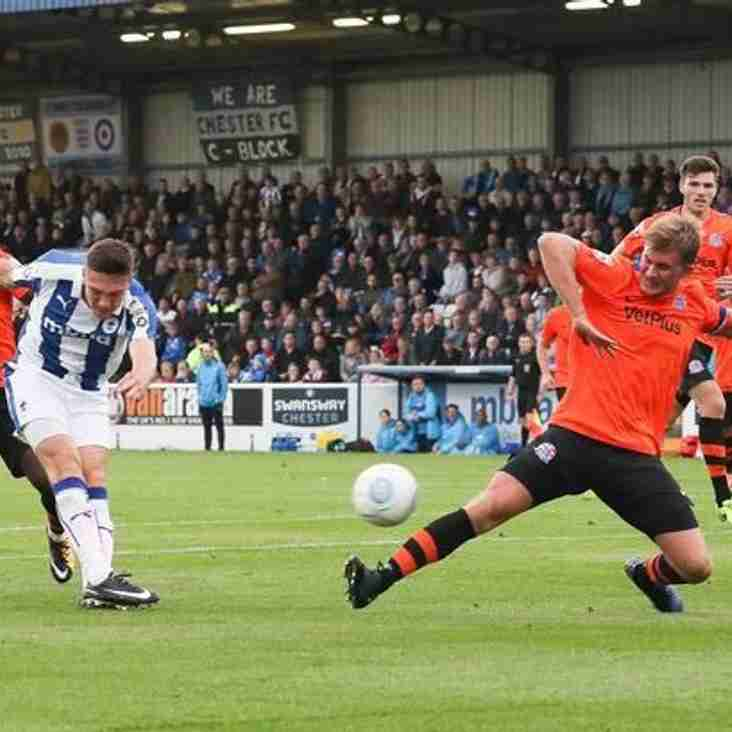 Bignot Urges His Chester Side Take Their Chances