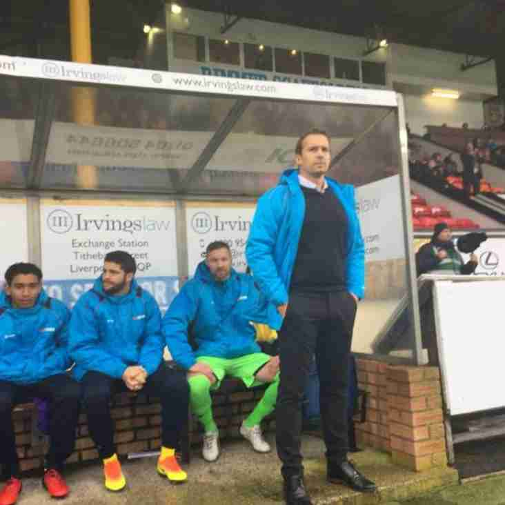 Kevin Davies Wants Southport To Build On First Win