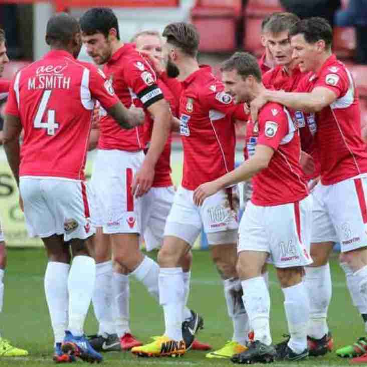 Keates Delighted With Ruthless Wrexham Performance